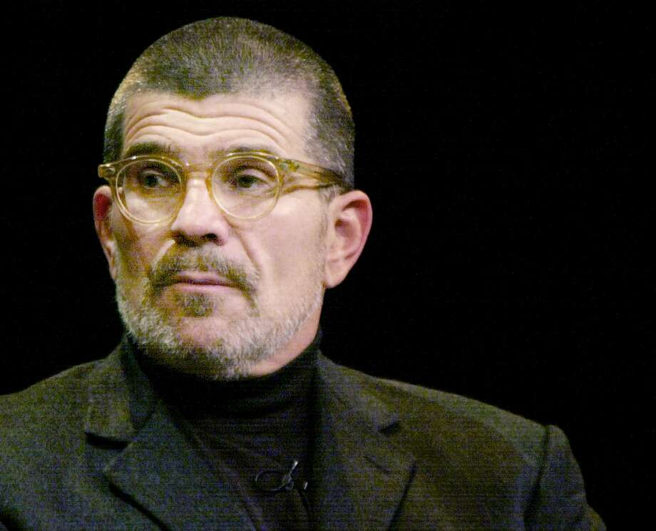 """KRT ENTERTAINMENT STORY SLUGGED: DAVIDMAMET KRT PHOTOGRAPH BY CINDI CHRISTIE/CONTRA COSTA TIMES (March 5) Famed playwright David Mamet is photographed at the Herbst Theater in San Francisco, California, on Monday, February 23, 2004. His new play, """"Dr. Faustus,"""" made its world debut at the Magic Theater in San Francisco, California, on Tuesday, February 24. (nk) 2004 Photo: CINDI CHRISTIE, MBR / CONTRA COSTA TIMES"""