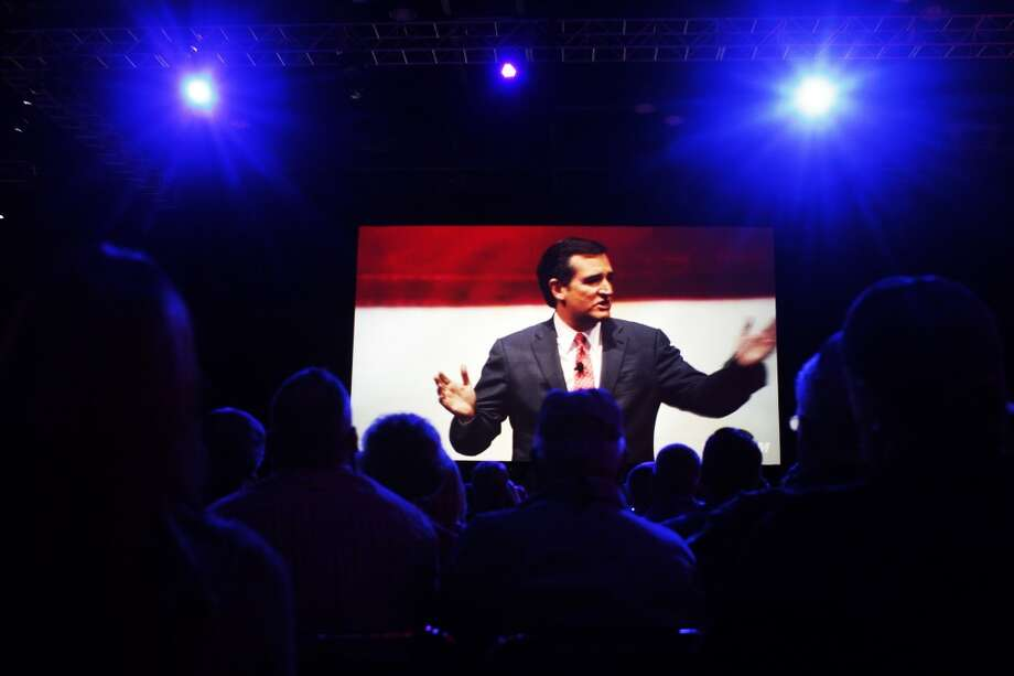 Sen. Ted Cruz at the NRA convention on Friday, May 3.