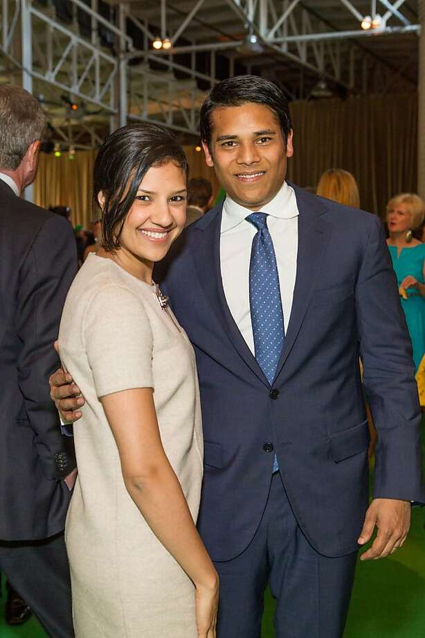 Megha Tolia and Nirav Tolia at the annual Tipping Point Benefit on May 02, 2013. Photo: Drew Altizer Phototgraphy