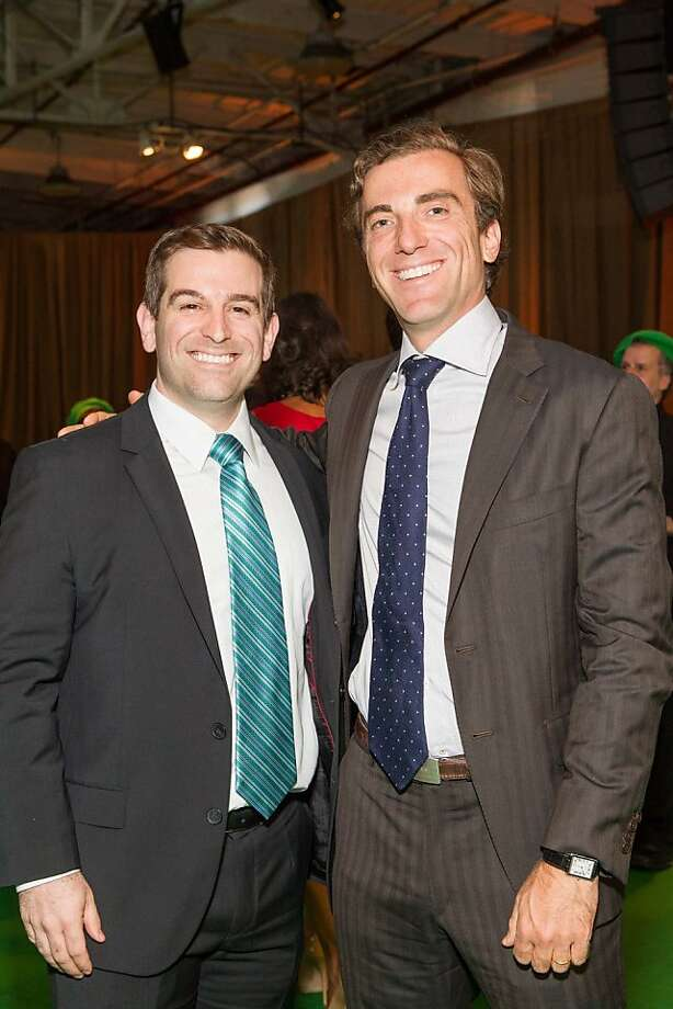 Mathew Kahn and Mason Morgit at the annual Tipping Point Benefit on May 02, 2013. Photo: Drew Altizer Phototgraphy