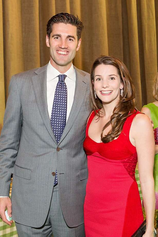 Hunt Hanover and Kelsey Lamond at the annual Tipping Point Benefit on May 02, 2013. Photo: Drew Altizer Phototgraphy