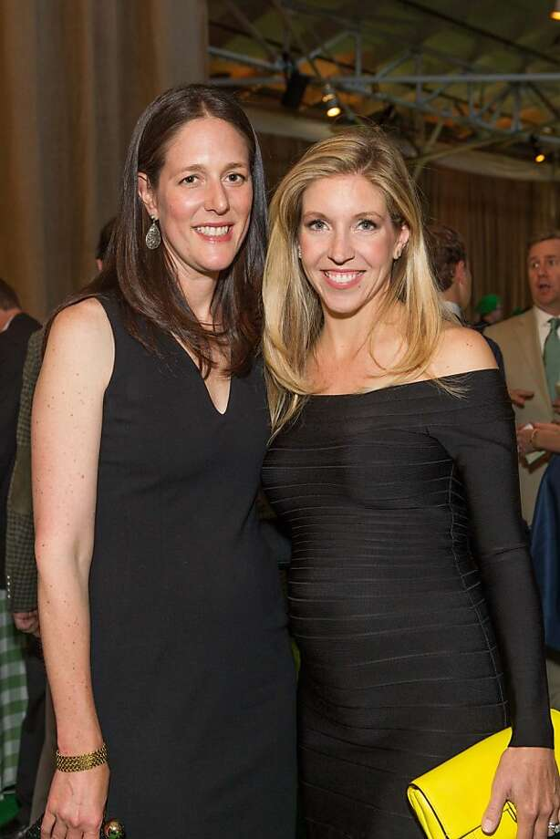 Lisa Tarter and Jane Gruber at the annual Tipping Point Benefit on May 02, 2013. Photo: Drew Altizer Phototgraphy