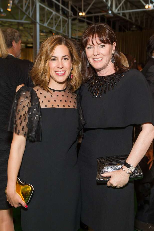 Alison Pincus and Allison Speer at the annual Tipping Point Benefit on May 02, 2013. Photo: Drew Altizer Phototgraphy