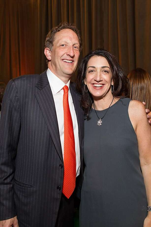 Larry Baer and Pam Baer at the annual Tipping Point Benefit on May 02, 2013. Photo: Drew Altizer Phototgraphy