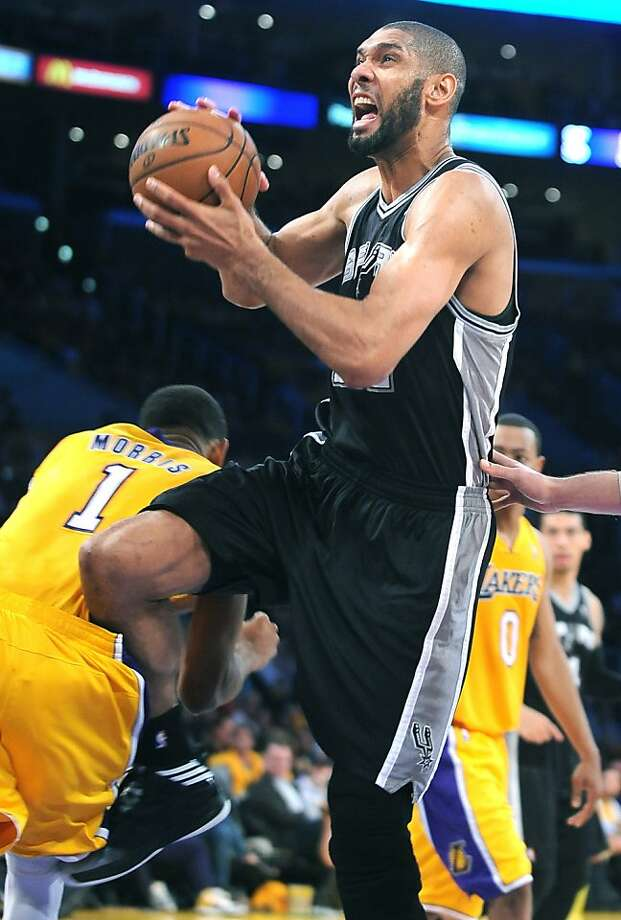 Tim Duncan has helped make the Spurs the steadiest team in the NBA since he broke into the league in 1997. Photo: Wally Skalij, McClatchy-Tribune News Service