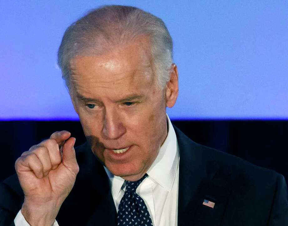 While trying not to overshadow President Barack Obama, Vice President Joe Biden has been keeping an eye on his political future. Photo: Rick Osentoski, FRE / FR170444 AP