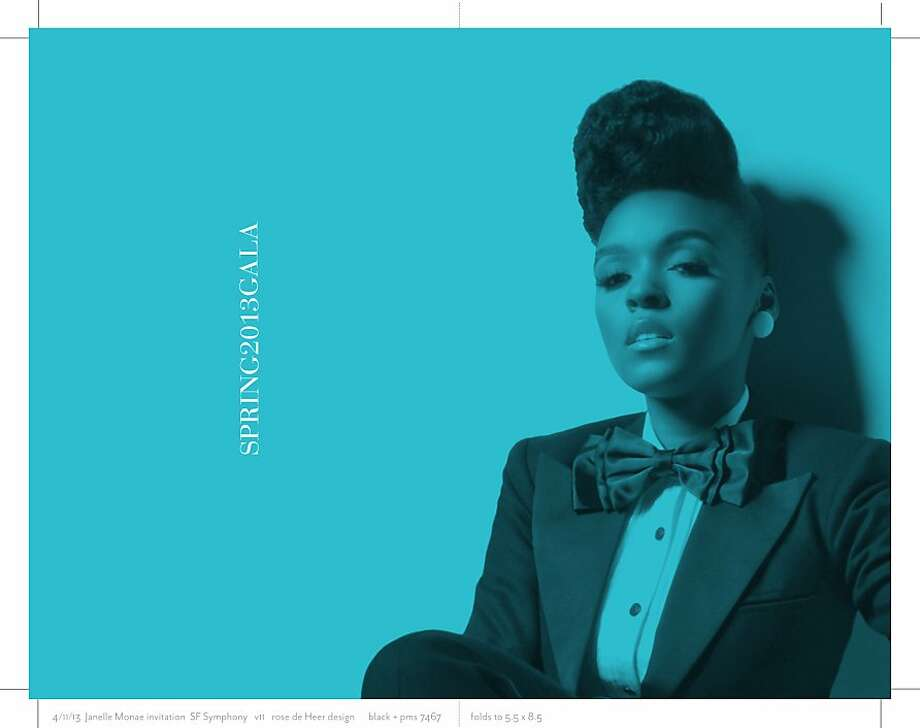 Janelle Monae will sing soul and R&B at the Spring Gala on May 16. Photo: SF Symphony