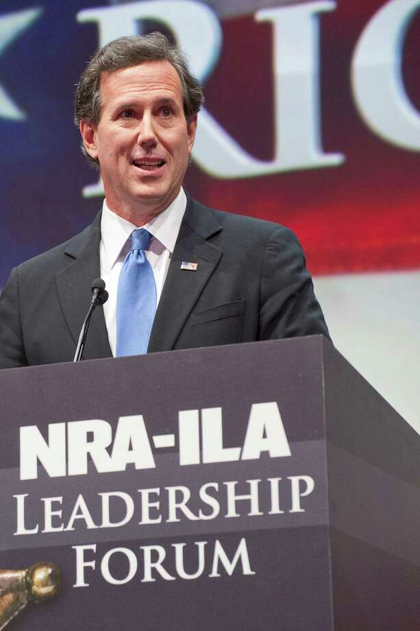 Former Senator and presidential candidate Rick Santorum Photo: Steve Ueckert, Associated Press / FR170472 AP