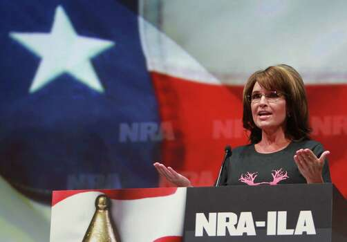 Former Alaska Governor and vice-presidential candidate Sarah Palin Photo: Mayra Beltran / © 2013 Houston Chronicle