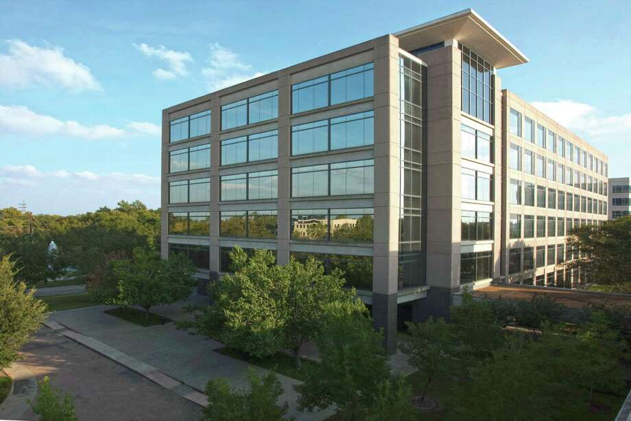Schlumberger has leased 39,162 square feet at 1200 Enclave Parkway for a total of 144,594 square feet.  The lease expansion brings the 149,683 square-foot, six-story Class A office building to 100 percent occupancy. Mark Russell of Studley represented Schlumberger and Chip Colvill, Ronnie Martin and Michael Anderson of Colvill Office Properties represented the landlord, Piedmont Office Realty Trust. Photo: Courtesy Photo