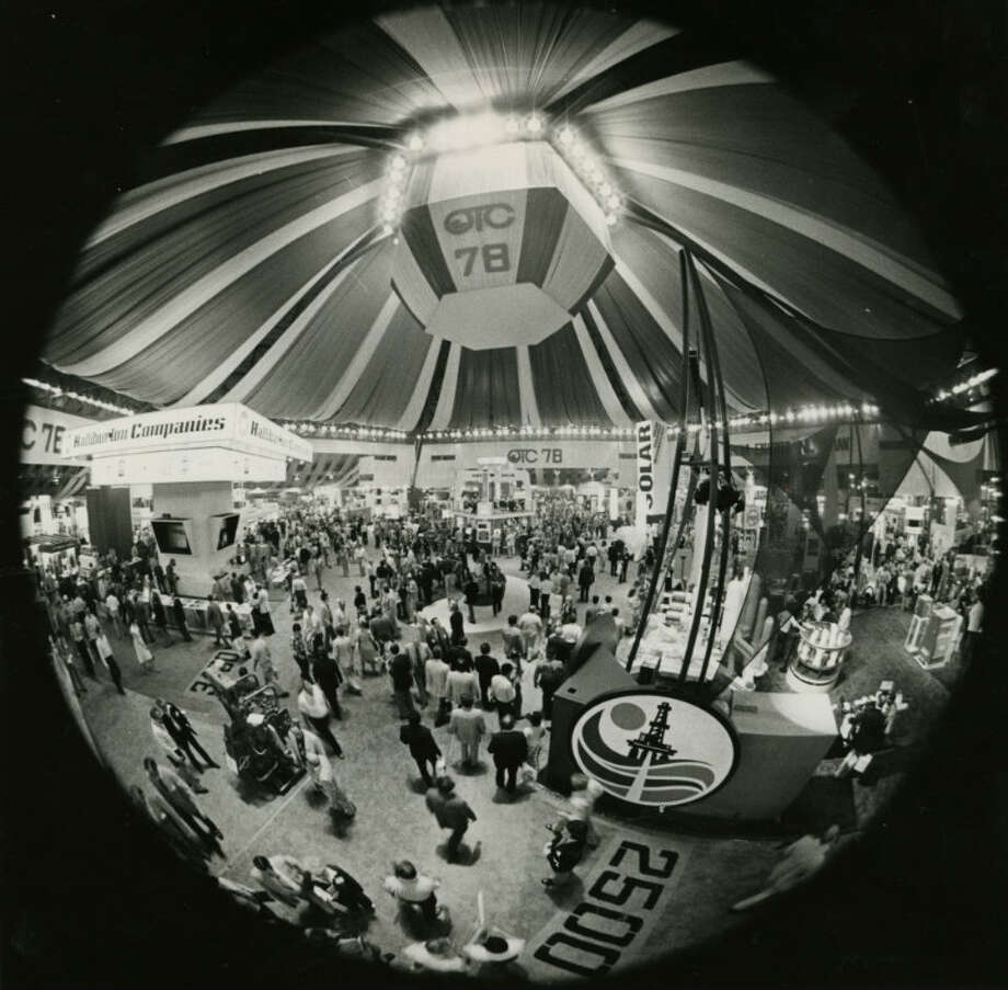 1978 - The Astrohall is crowded with attendees of the 1978 Offshore Technology Conference Photo: Frerd Bunch, Houston Chronicle