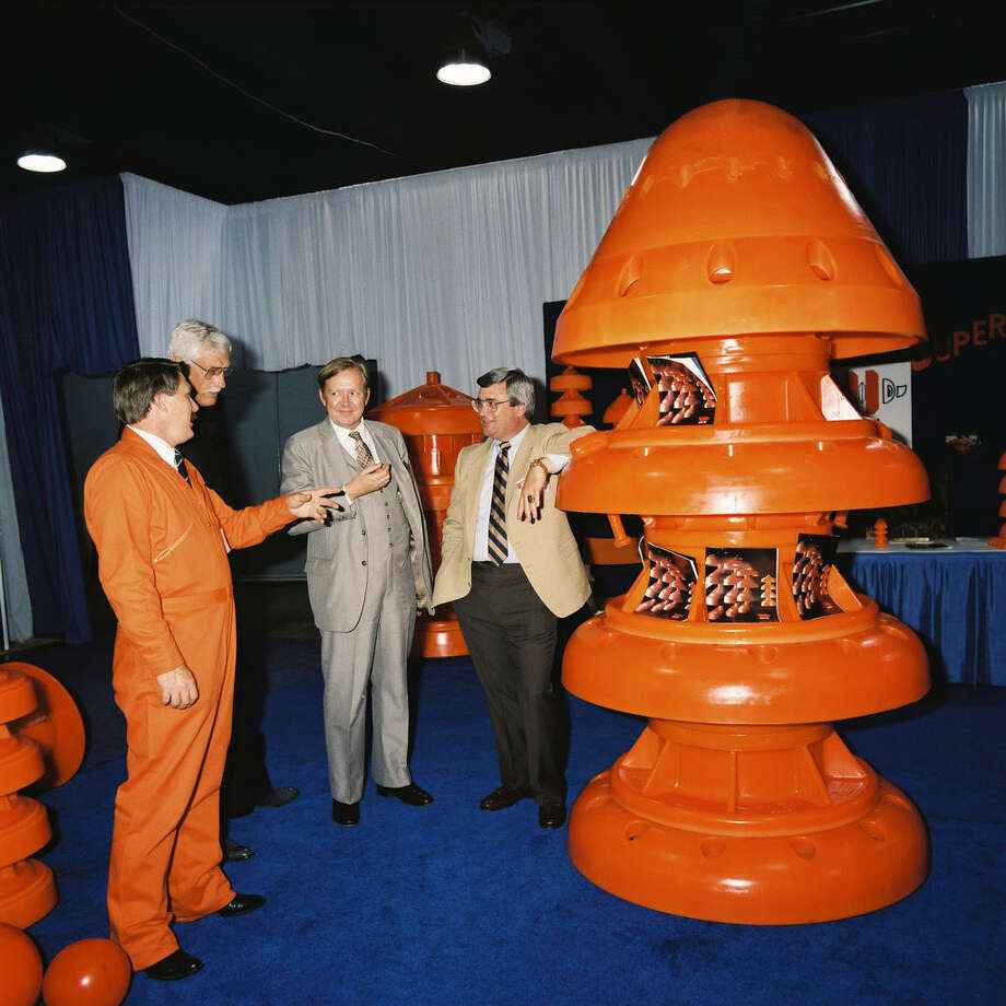 From @OTCHouston via Twitter: Here's an awesome #Photo from #OTCHOUSTON 1986! Know what it's a photo of? Photo: OTC Houston