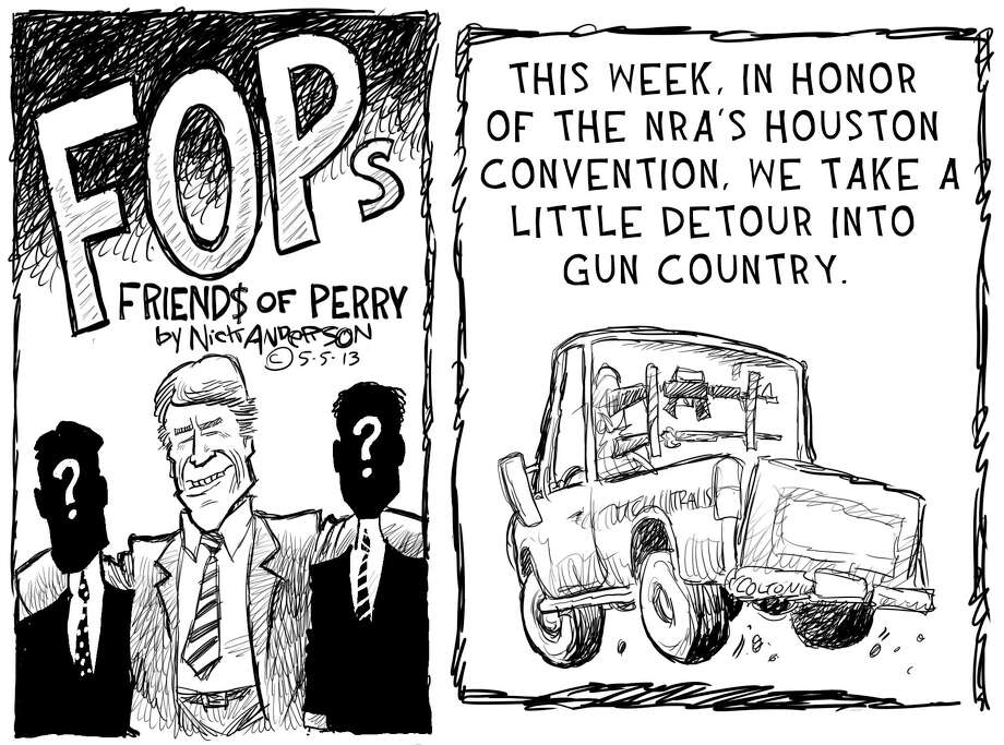 Meet the National Rifle Association ... Photo: Nick Anderson