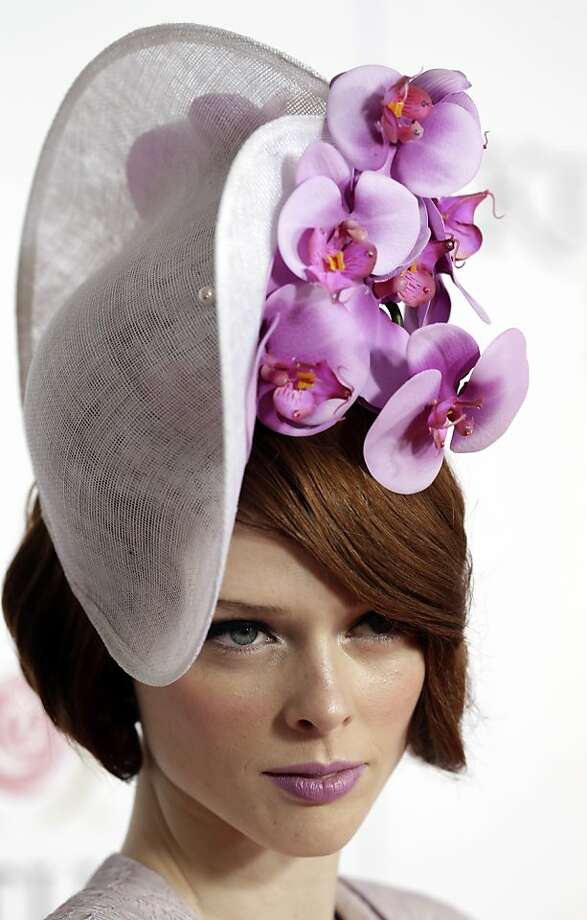 Model Coco Rocha arrives to attend the 139th Kentucky Derby at Churchill Downs Saturday, May 4, 2013, in Louisville, Ky. Photo: Darron Cummings, Associated Press