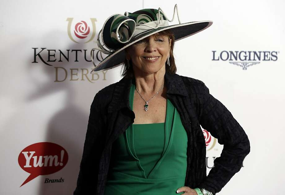 Author Nora Roberts arrives to attend the 139th Kentucky Derby at Churchill Downs Saturday, May 4, 2013, in Louisville, Ky. Photo: Darron Cummings, Associated Press