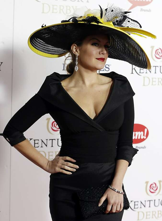 Miss American 2013 Mallory Hagan arrives to attend the 139th Kentucky Derby at Churchill Downs Saturday, May 4, 2013, in Louisville, Ky.  Photo: Darron Cummings, Associated Press