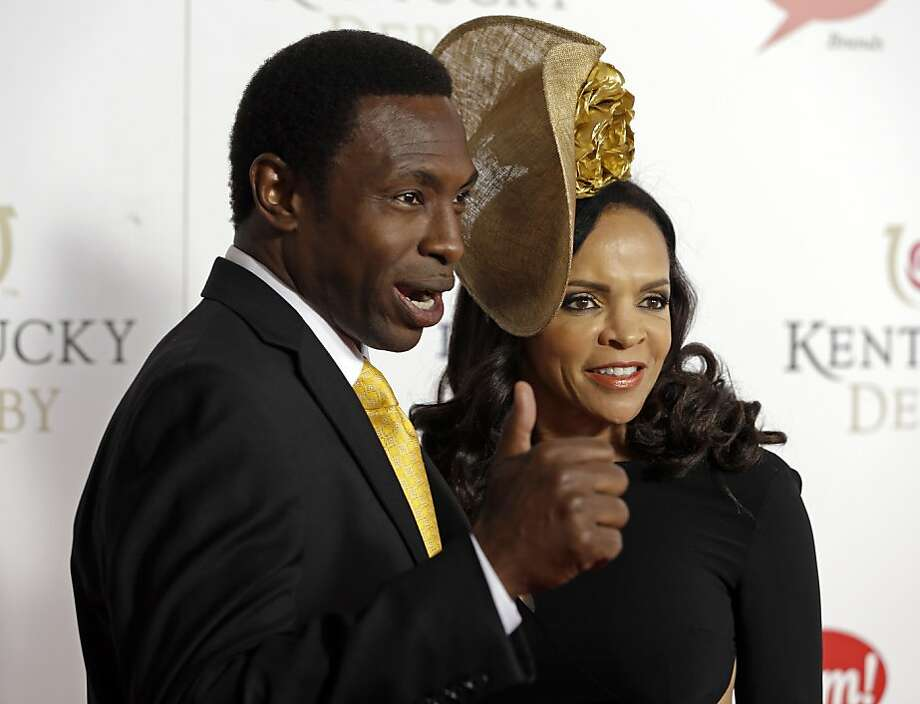 Former NBA player and coach Avery Johnson arrives with his wife Cassandra to attend the 139th Kentucky Derby at Churchill Downs Saturday, May 4, 2013, in Louisville, Ky. Photo: Darron Cummings, Associated Press