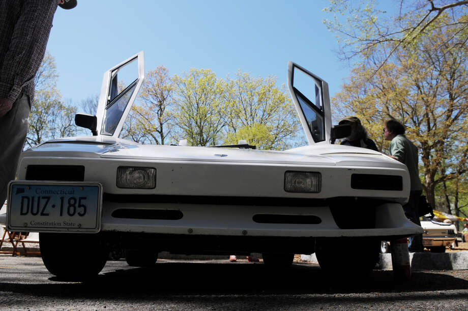 A 1988 Lamborghini at the Stamford Museum and Nature Center's 10th Annual Model Ts to Mustangs Antique and Classic Car Show in Stamford Conn., May 4, 2013. Photo: Keelin Daly / Stamford Advocate Freelance