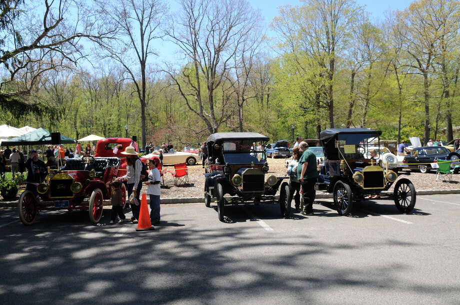 The Stamford Museum and Nature Center's 10th Annual Model Ts to Mustangs Antique and Classic Car Show in Stamford Conn., May 4, 2013. Photo: Keelin Daly / Stamford Advocate Freelance