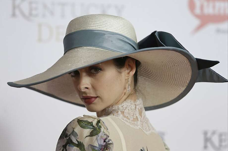 Actress Kyrsten Ritter arrives to attend the 139th Kentucky Derby at Churchill Downs Saturday, May 4, 2013, in Louisville, Ky.  Photo: Darron Cummings, Associated Press