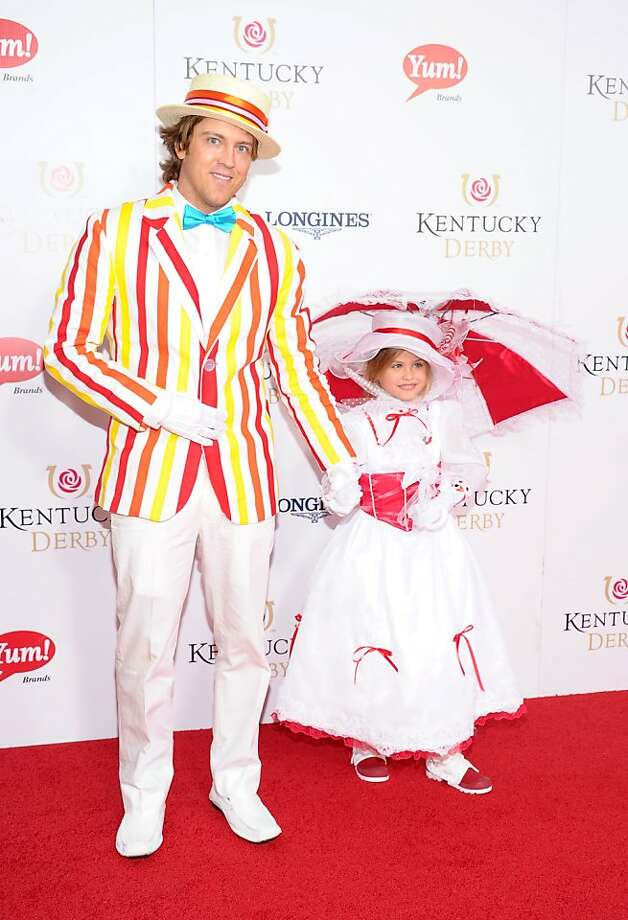 Larry Birkhead and Dannielynn Birkhead attend the 139th Kentucky Derby at Churchill Downs on May 4, 2013 in Louisville, Kentucky. Photo: Michael Loccisano, Getty Images