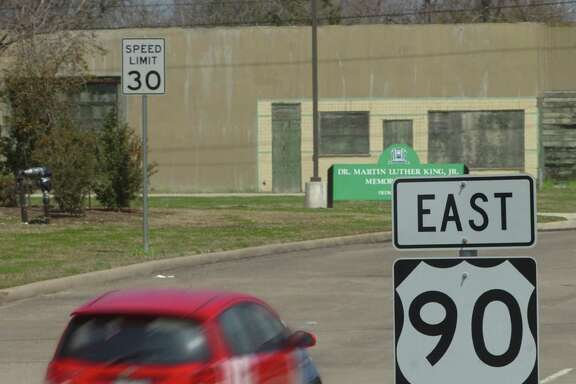 College Street, which is U.S. 90 through Beaumont, follows the path of the Old Spanish Trail. Pete Churton/The Enterprise