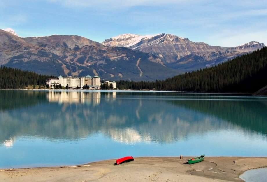 No. 9: Banff and Lake Louise. 'Few destinations in the world can rival (their) majesty, hospitality and scenery,' Cohen says. 'People are not going to Mexico as much, they're going to Canada --  an international destination that's very elegant and easy to travel to and different.'