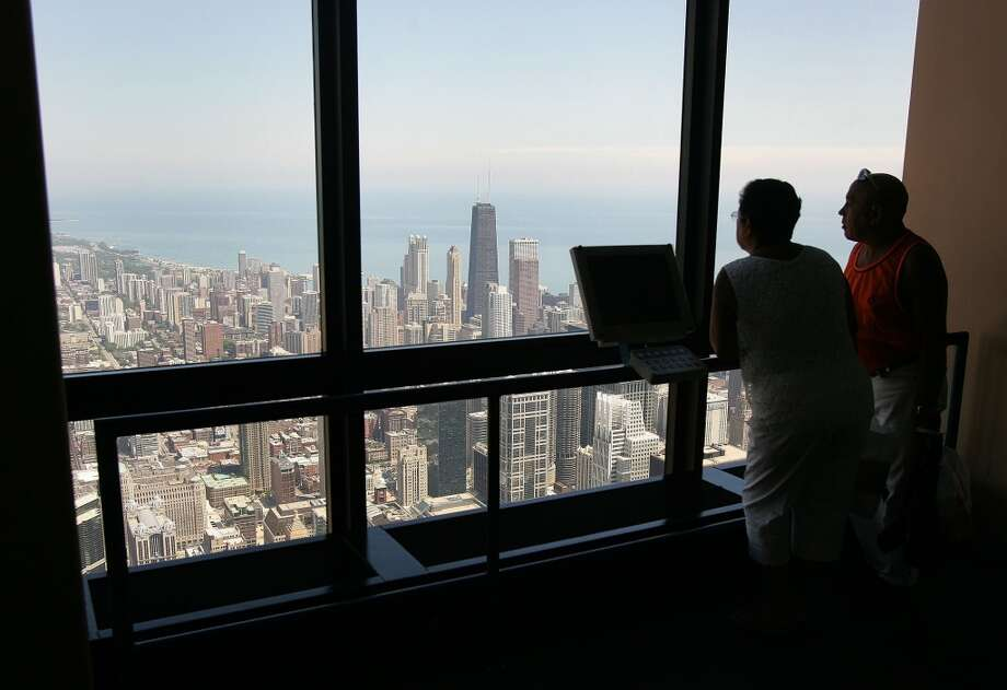 No. 4: Chicago. The Windy City's vibrant architecture, including the skyline as seen from Sears Tower, contributes to its status as most-visited city, according to Cohen. Incentive trip winners also enjoy 'soaking up the culture and exploring the array of museums.'
