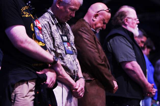 NRA meeting Saturday in Houston. Photo: Johnny Hanson/Chronicle