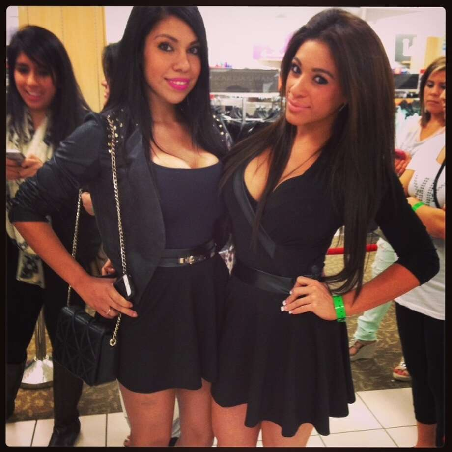 "Estella Lupian and Tanya Delgado say claim to be the ""Baytown Kardashians."""