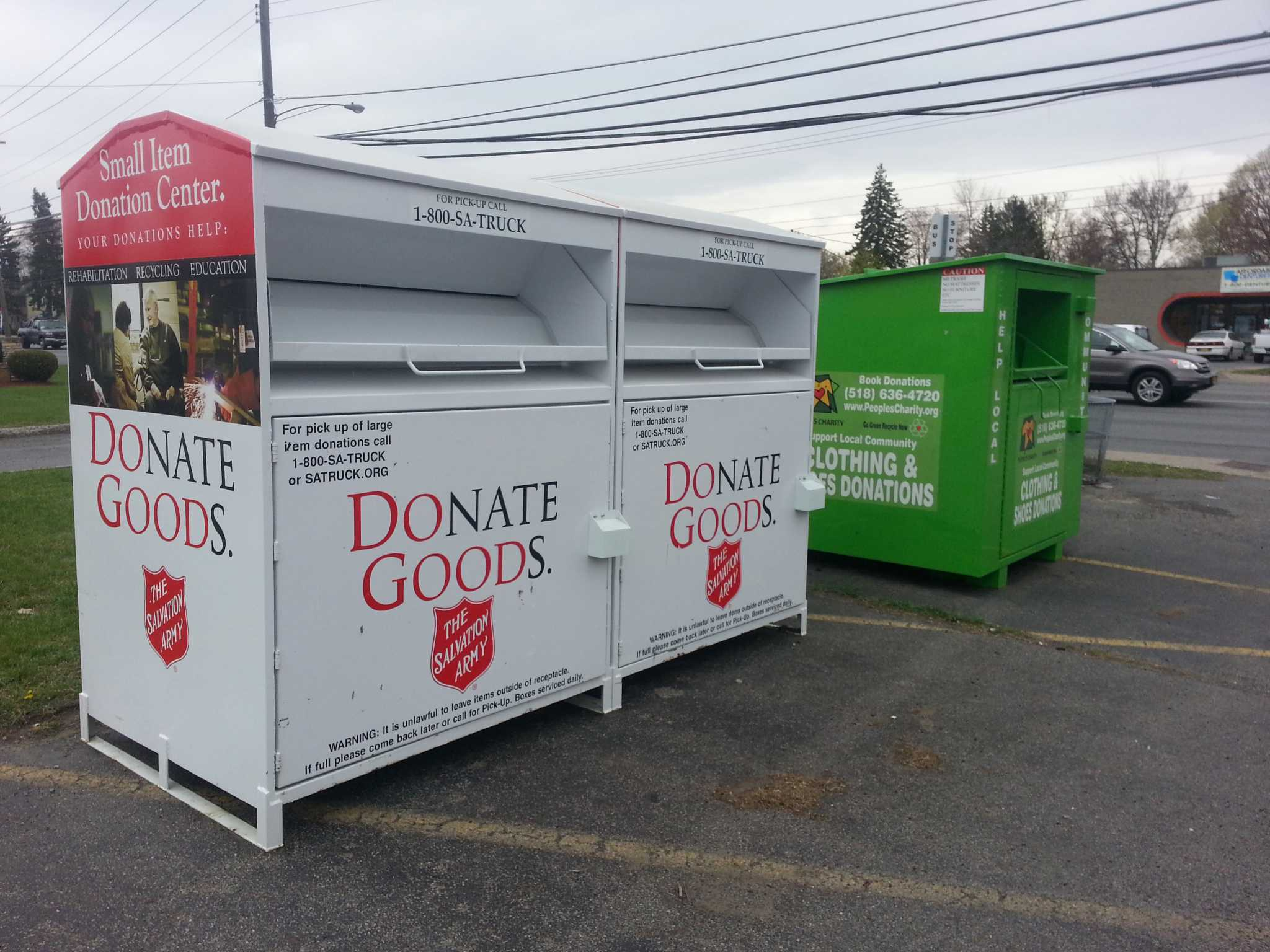 Letter Donors Pay Attention To Name On Clothing Bins Times Union