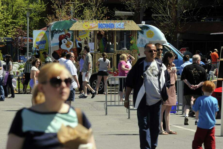 The Food Truck Festival of NY at Troy?s River Front Park on Saturday May 4, 2013 in Troy, N.Y. (Michael P. Farrell/Times Union) Photo: Michael P. Farrell