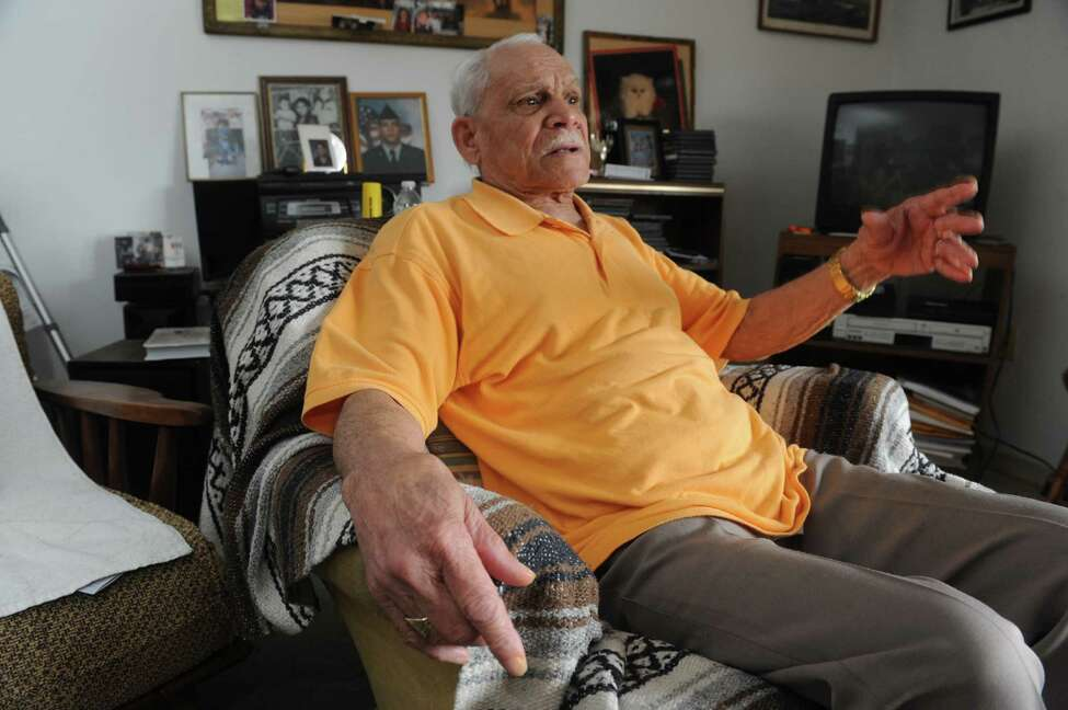 Carlos Puentes on Friday April 19, 2013 in Rensselaer, N.Y. (Michael P. Farrell/Times Union)