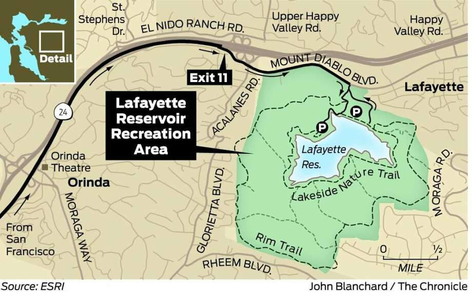 Lafayette reservoir not just for locals sfgate for Lafayette reservoir fishing report
