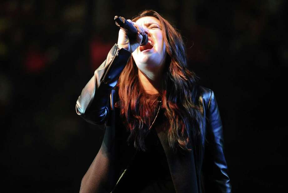 Kree Harrison performs at Ford Arena on Saturday, May 4, 2013. Photo taken: Randy Edwards/The Enterprise