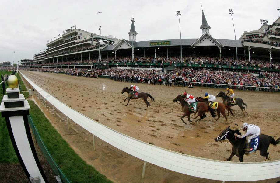 Orb, with Joel Rosario up, captures the 139th running of the Kentucky Derby at Churchill Downs in Louisville, Kentucky, on Saturday, May 4, 2013. (Jay Fuller/Lexington Herald-Leader/MCT) Photo: Jay Fuller, MBR / Lexington Herald-Leader