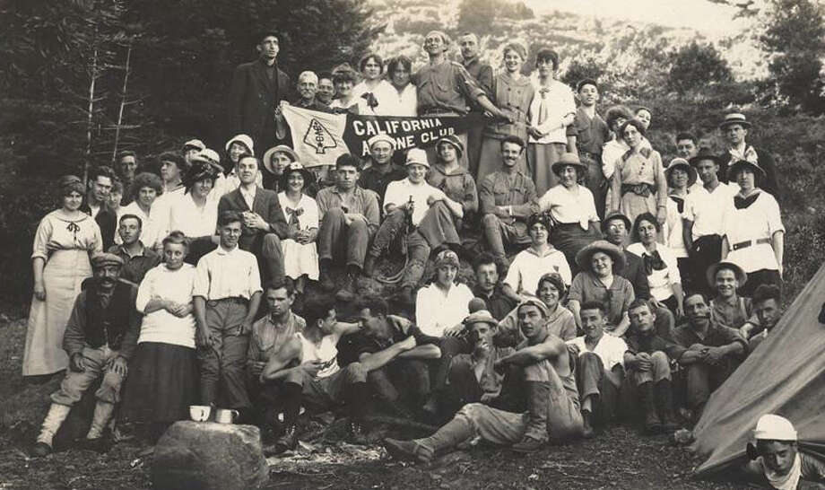 An undated  group portrait of the California Alpine Club Photo: Courtsey The California Alpine C / ONLINE_YES