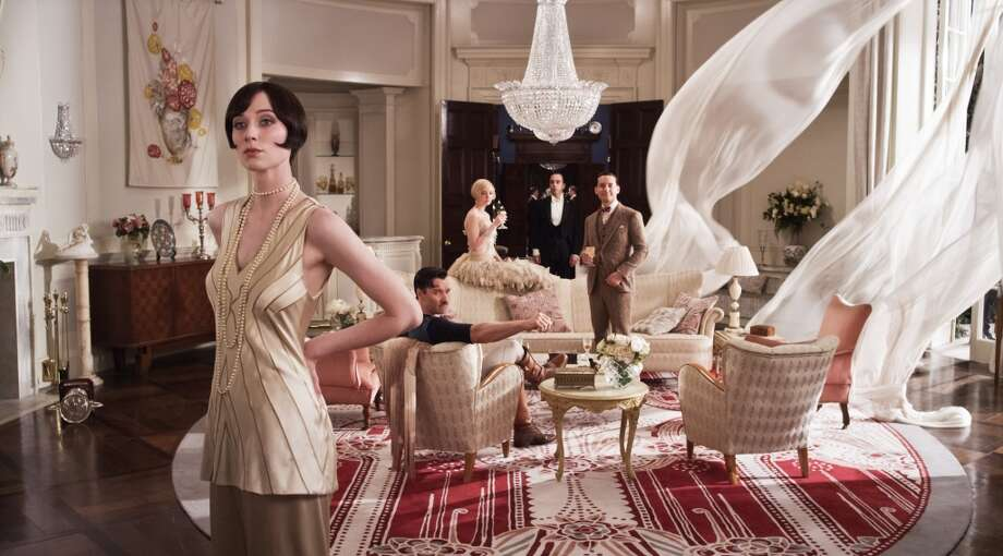 "(L-R) Elizabeth Debicki as Jordan Baker, Joel Edgerton as Tom Buchanan, Carey Mulligan as Daisy Buchanan and Tobey Maguire as Nick Carraway ""The Great Gatsby,"" a Warner Bros. Pictures release."