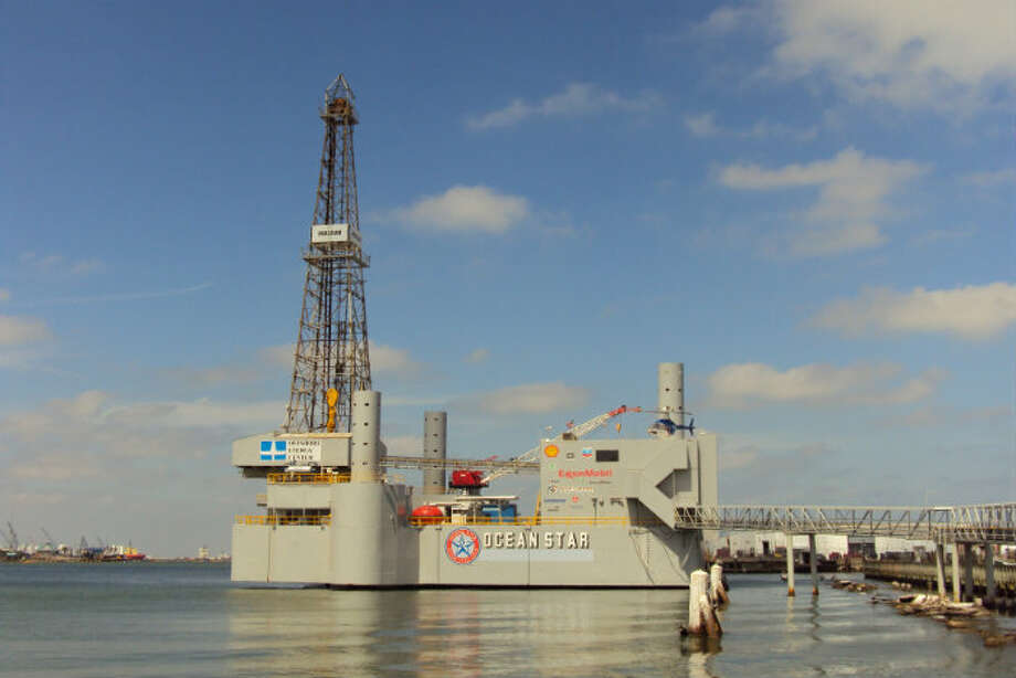Offshore Energy Center's Ocean Star museum. It's a former working rig converted into a museum in Galveston.