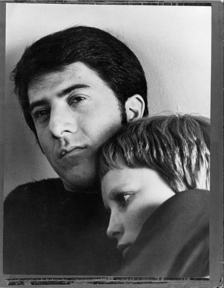 American actor Dustin Hoffman filmingJohn And Mary with Mia Farrow  in New York. Photo: Terry O'Neill, Getty / Terry O'Neill
