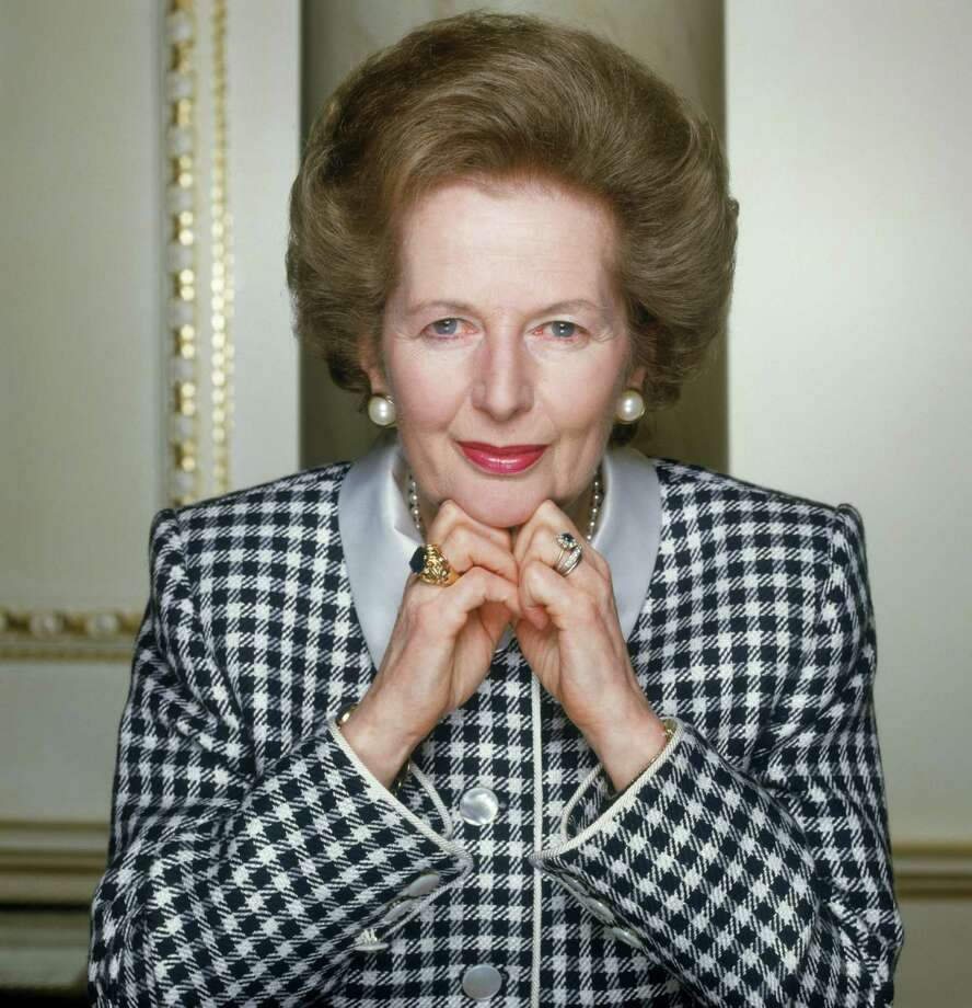 On Nov. 28, 1990, Margaret Thatcher resigned as British prime minister during an audience with Queen Elizabeth II, who then conferred the premiership on John Major. Photo: Terry O'Neill, Getty / 2008 Getty Images