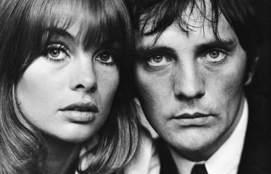 A close cropped portrait of British actor Terence Stamp and model Jean 'The Shrimp' Shrimpton, London 1963. Photo: Terry O'Neill, Getty / 2004 Getty Images