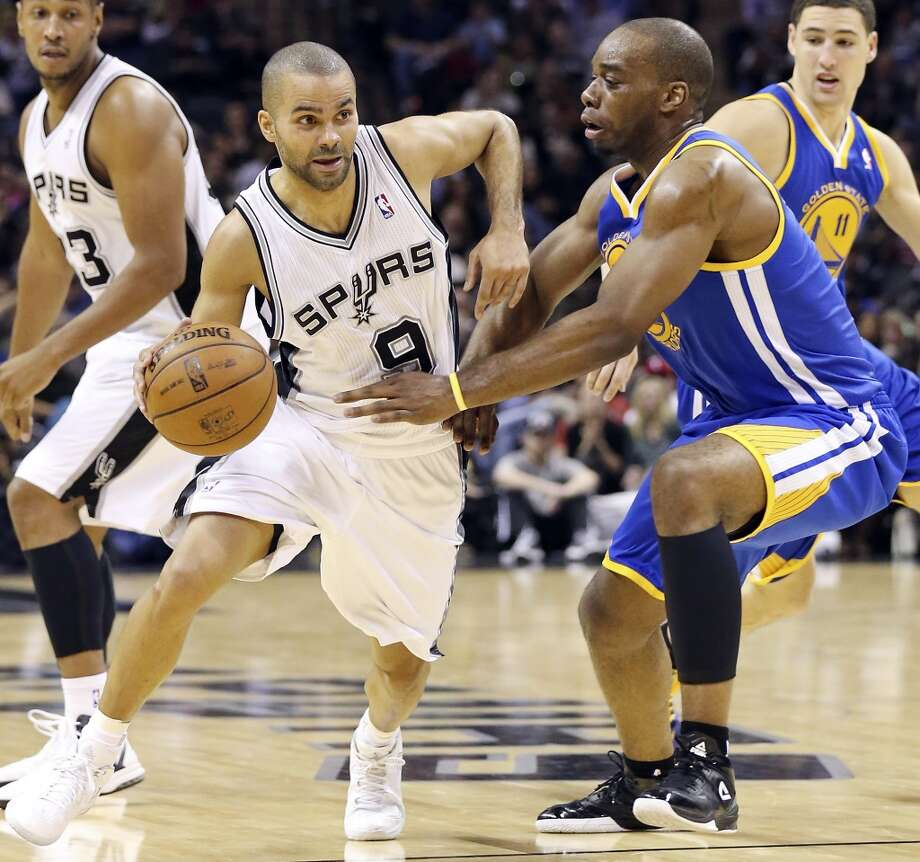 Spurs point guard (9) Tony Parker, 6-2, 12th year