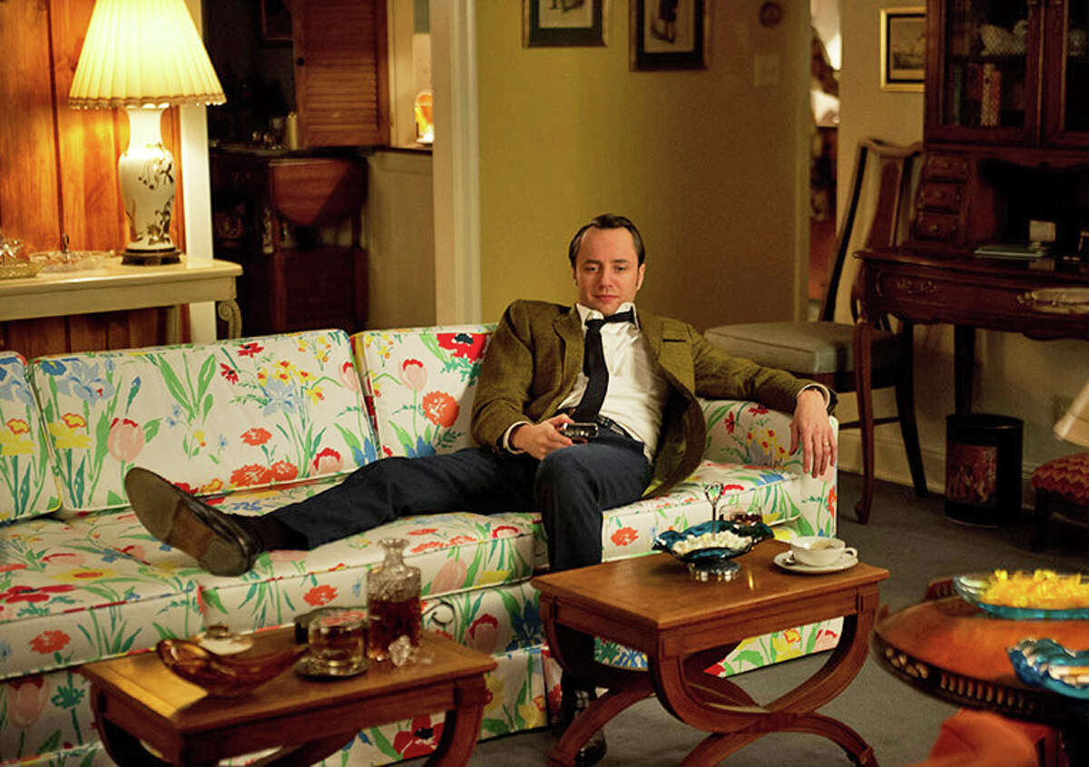 """Pete Campbell (Vincent Kartheiser) in his Cos Cob home in Episode 3 of the current season of AMC's """"Mad Men."""""""
