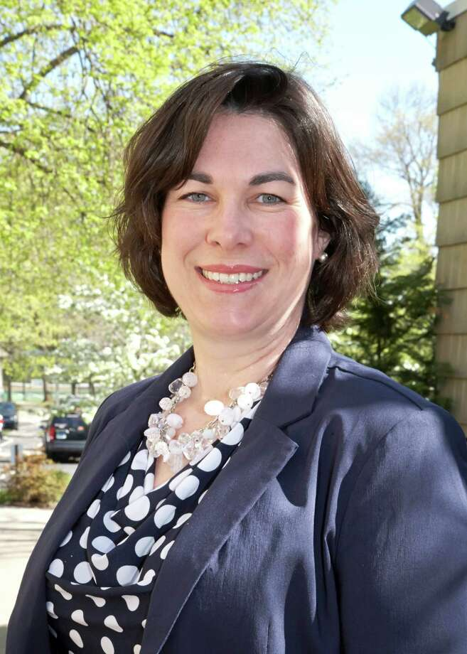 "Suzanne Adam has served as the YWCA Greenwich Director of Domestic Abuse Services for the past 10 years. During that time, she says, the Y has served ""thousands"" of domestic abuse victims each year. Photo: Contributed Photo / Greenwich Citizen"