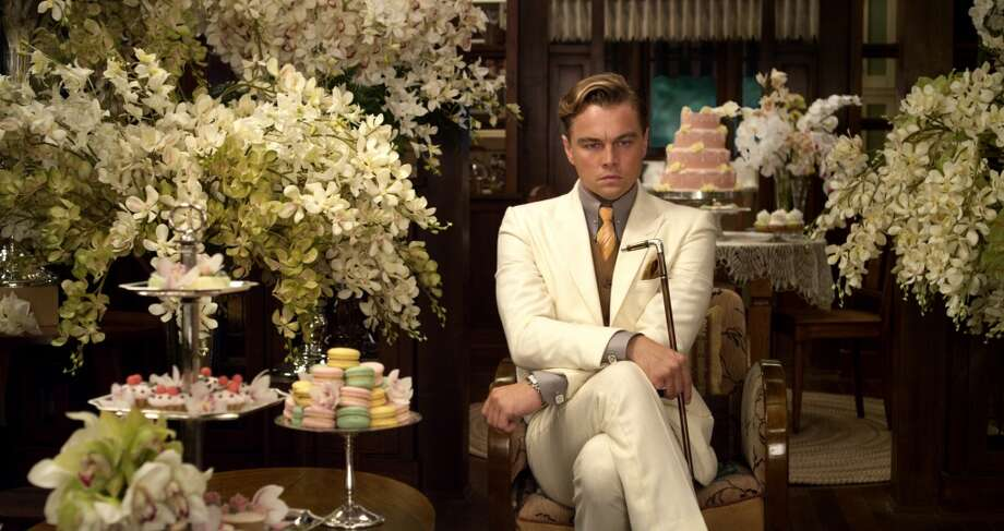 "Leonardo DiCaprio as Jay Gatsby  ""The Great Gatsby,"" a Warner Bros. Pictures release."
