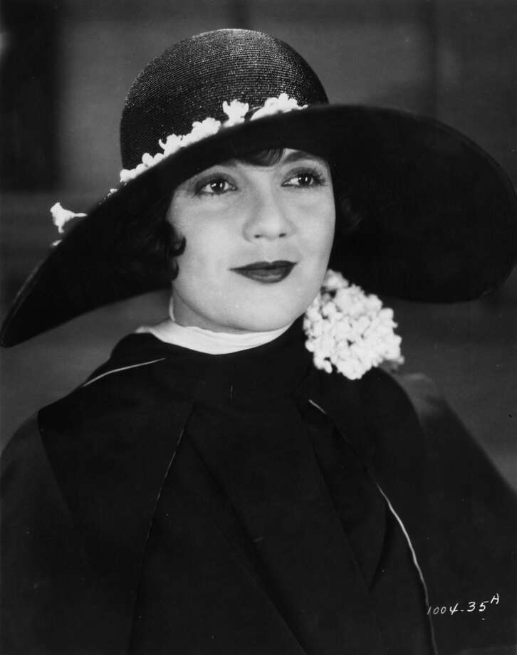 "Actress Lois Wilson, playing Daisy Buchanan, as she appears in the silent film version of ""The Great Gatsby,"" 1926."