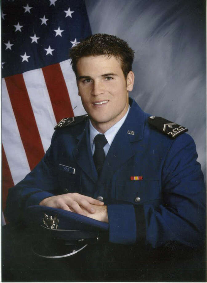 Air Force Capt. Mark T. Voss, 27, was one of three airmen killed Friday in the mountains of Kyrgyzstan.