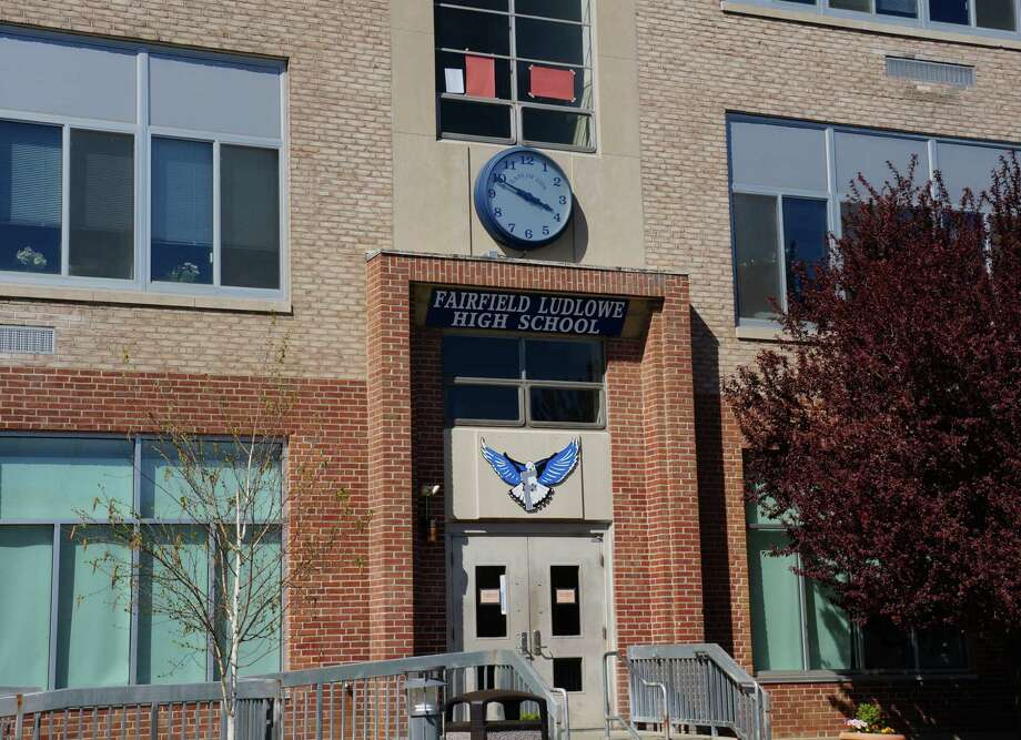 Window replacement is part of the $11.6 million renovation/expansion project proposed for Fairfield Ludlowe High School.  FAIRFIELD CITIZEN, CT 5/1/13 Photo: Genevieve Reilly / Fairfield Citizen