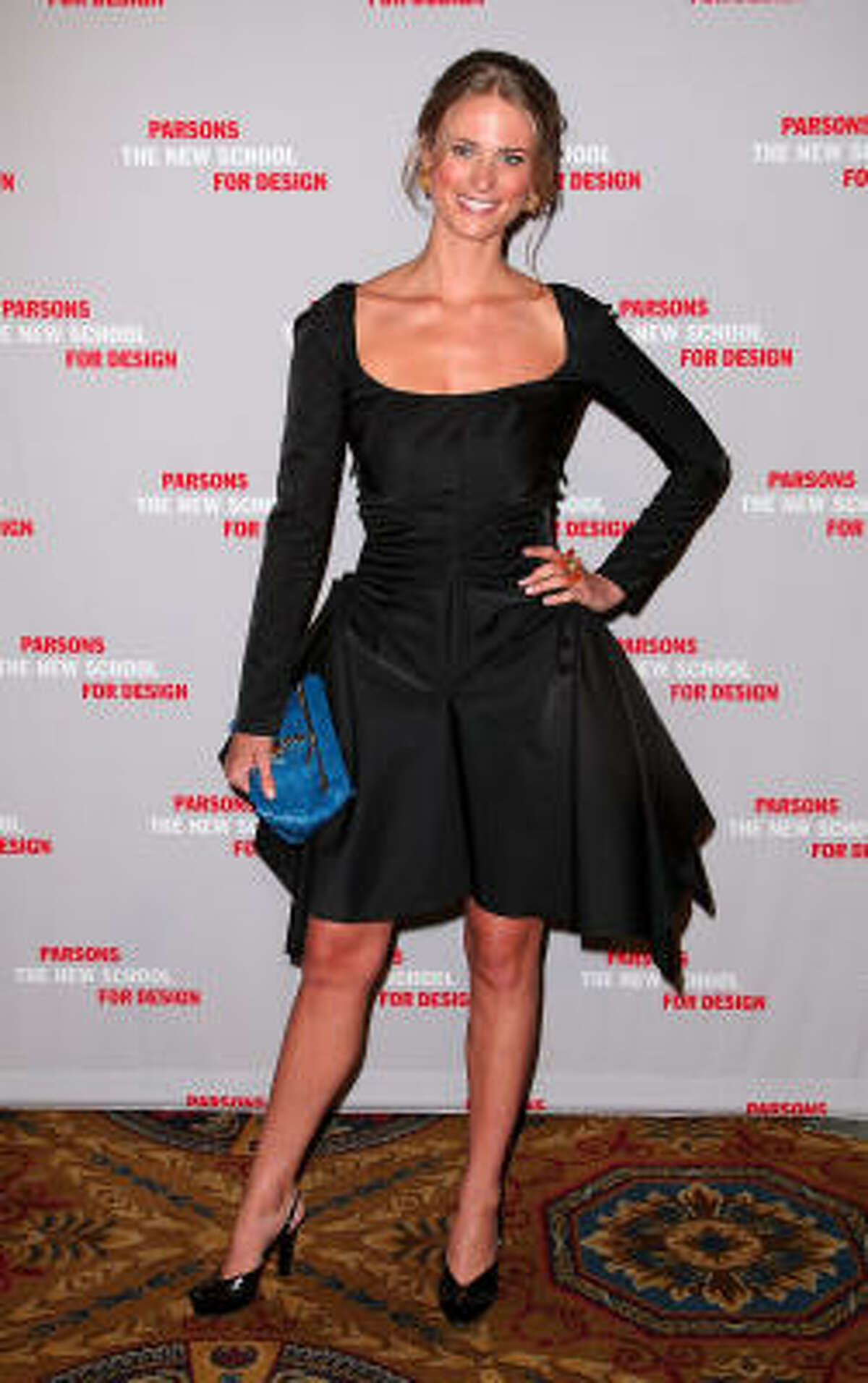 Julie Henderson at the 2009 Parsons Fashion benefit.